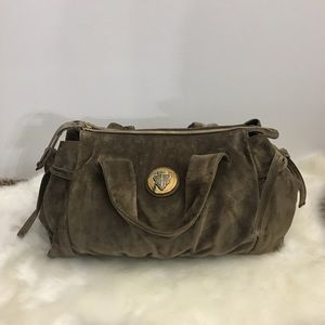 Authentic Gucci Suede Leather Bag